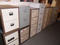 4 Drawer Metal Filing Cabinet ( Bisley / Triumph / Unbranded ) - 20 Available