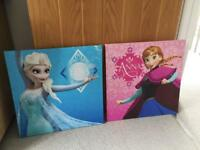 Frozen canvas x 2