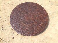 Cast Iron Manhole Cover 650Diameter