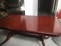 Sale a dining table and chairs