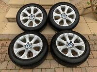 BMW X5 winter wheels and tyres