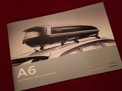 Audi A6 Accessories Brochure 2016