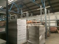 Factory racking, shelving