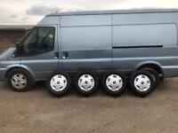 """Ford transit 16"""" wheels and tyres"""