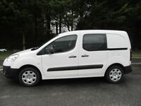 -- 2015 PEUGEOT PARTNER 1.6 HDI CREW VAN -- 5 -SEATERS --
