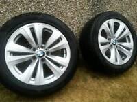 Original BMW 18 inch Alloys with Pirrell P Zero Run Flat Tyres