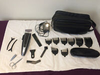 Remington HC-720 Professional Hair Clipper with comprehensive accessory kit
