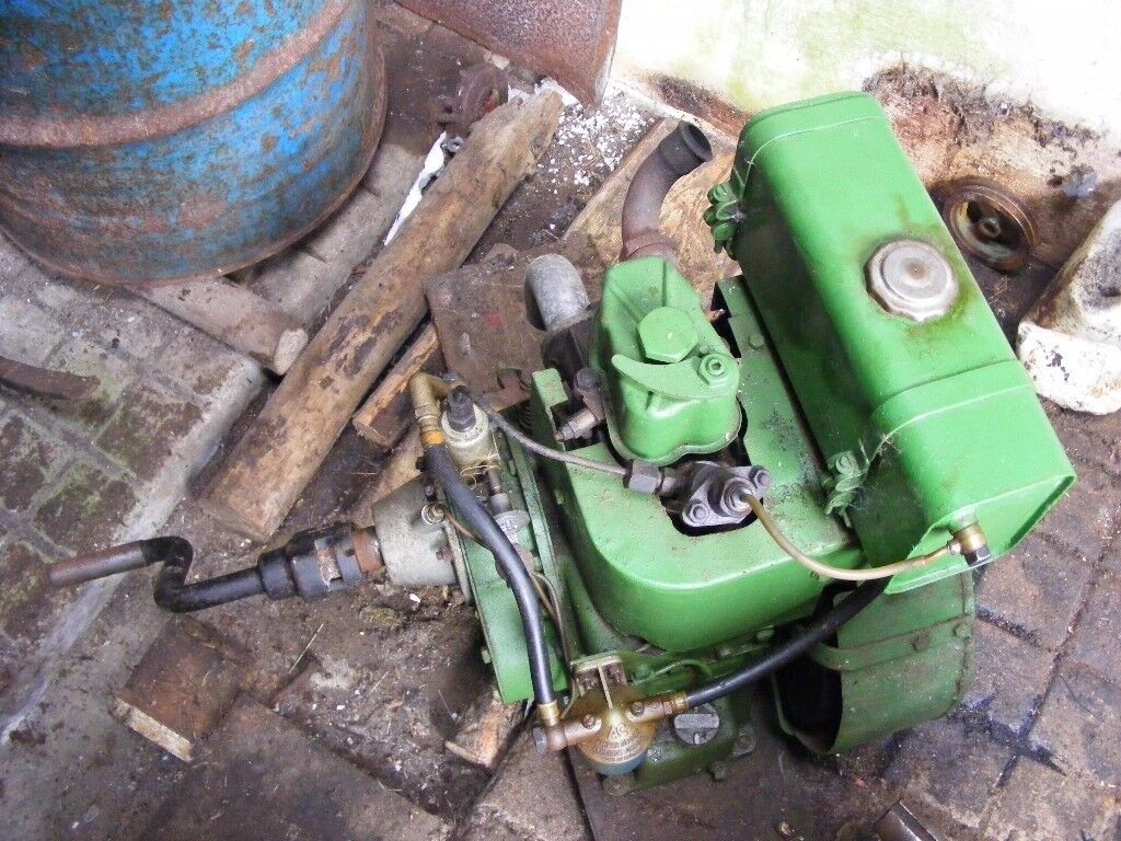 2 x Petter stationary diesel engines