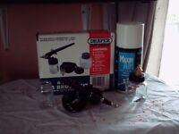 draper air brush spray kit