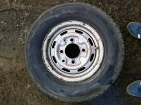 Trailer wheel wanted