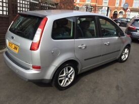 2005 Ford C-Max 1.6cc Petrol,7 months mot,excellent runner,alloys,ac,cd,clean,economical & reliable