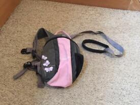 Toddler Back pack/Reins