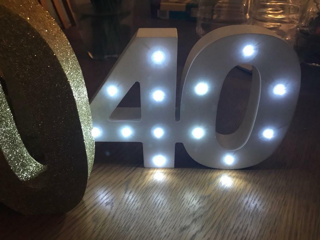 40th Birthday Decorations