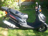 Directbikes Cruiser 125cc DB125T-7 Motorbike 2013 MOT next year