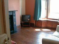 Sunny, freshly painted, 2 bed flat near uni for rent