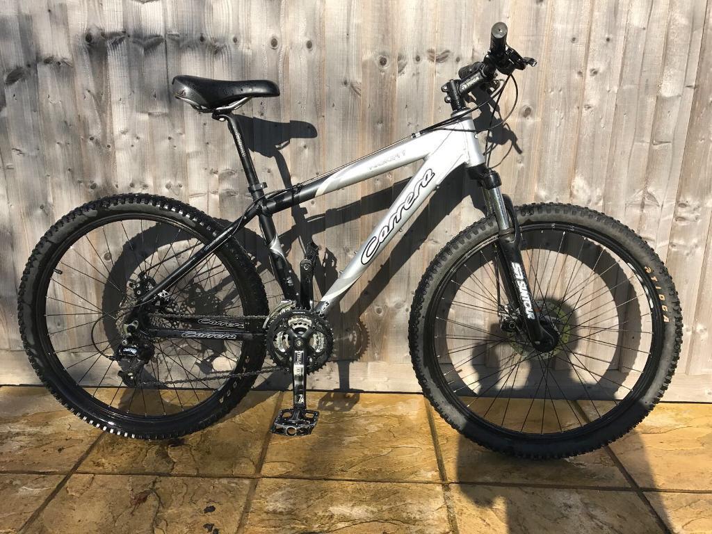 Carrera kraken mountain bike will post