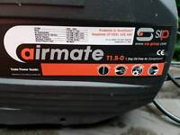 SIP Airmate T1.5 gasless and oil free air compressor and associated compressed air tools