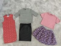 Bundle of girls clothes from river island, new look and next