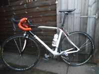 Pinnacle Aeos Carbon Road Bike Large56cm Shimano 105 10speed Gears Easton Wheels