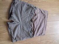 Maternity shorts size 12