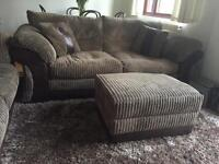 DFS sofa 3 seater and 2 seater sofa bed