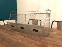 Wire basket - Rustic chic - Kitchen storage