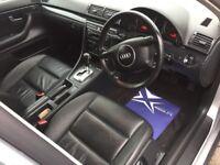 AUTOMATIC--AUDI A4 TDI 2.5L. 163BHP--ESTATE DIESEL--1YEAR MOT