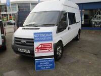 FORD TRANSIT HIGH ROOF LWB 2009 IDEAL CAMPER CONVERSION