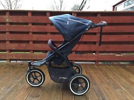 Phil and ted navigator v2 double buggy with extras