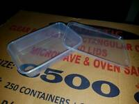 Plastic microwave & oven safe containers