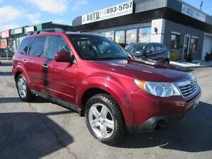 2009 Subaru Forester X Limited Leather, Panoramic roof