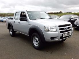 2009 ford ranger double cab 2.5dci, 1 owner from new, full history, motd feb 2018