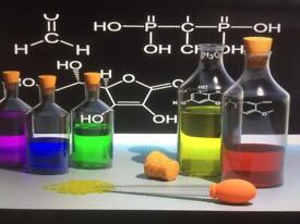 CHEMISTRY TUITION /TUTOR : GLASGOW AREA