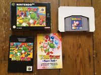 YOSHI'S STORY (Boxed with instructions) for NINTENDO 64