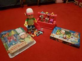 Handy manny various items