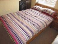 Habitat Radius Oak Double Bed