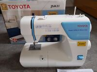 Toyota JSA21 Sewing Machine - Perfect Condition, Boxed with accessories