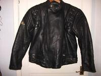 Gents Leather Motorbike Jacket