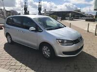 PCO VW Sharan 2L Diesel Automatic to rent or hire
