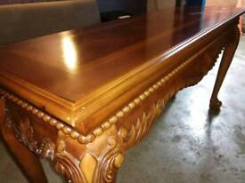 Gorgeous console table with claw feet
