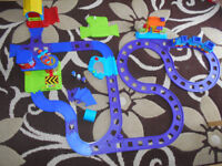 ELC HappyLand Train Set with a battery operated train