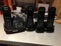 Panasonic telephones x 4