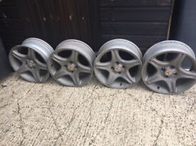 Mgf/ Mgtf alloy wheels