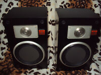 Vintage Technics SB-X110 Speakers