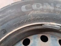 Citroen Picasso wheel and tyre