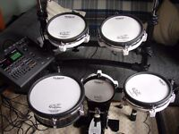 Roland TD10 V Drums - Professional Electronic Drum Kit... Mesh Heads