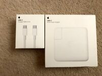 Apple original 87W USB-C Power Adapter + USB-C Charge Cable (2m) brand new RRP £98
