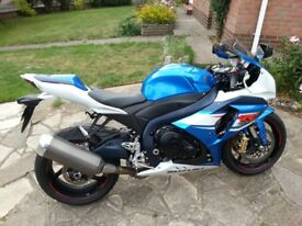 Suzuki GSXR 1000 2013 plate Superb Condition