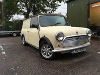 Classic Mini Van 1979 with 1275 Metro Engine and Disk Brakes