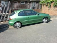 daewoo lanos 1600cc AUTOMATIC 4 SPEED long mot reliable lady owner 12 years MUST GO ASAP STILL ONO